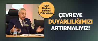 TESK Genel Başkanı Bendevi Palandöken