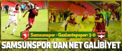 Samsunspor'dan Net Galibiyet Samsunspor - Gaziantepspor: 3-0