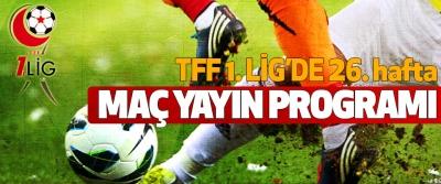 TFF 1.Lig 26. hafta maç yayın programı