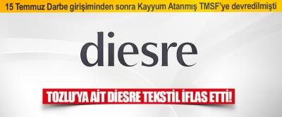 Tozlu'ya Ait Diesre Tekstil İflas Etti!