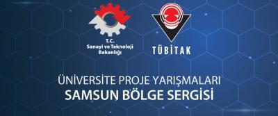 TUBİTAK Girişimcilik ve Yenilikçilik Üniversite Proje yarışmaları Samsun Bölge Sergisi başlıyor!