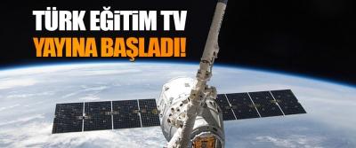 Türk Eğitim TV Yayına Başladı!