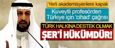 Türk halkına destek olmak şer'i hükümdür!