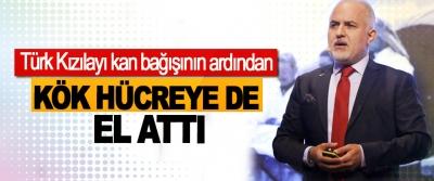 Türk Kızılayı kan bağışının ardından  Kök Hücreye de el attı