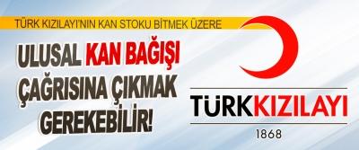 Türk Kızılayı'nın Kan Stoku Bitmek Üzere