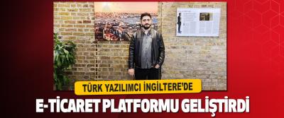 Türk Yazılımcı İngiltere'de E-Ticaret Platformu Geliştirdi