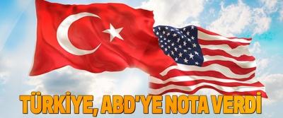 Türkiye, Abd'ye Nota Verdi