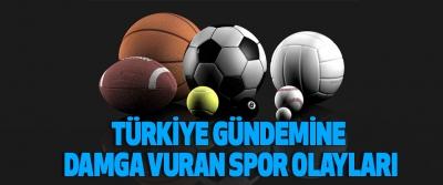 Türkiye Gündemine Damga Vuran Spor Olayları