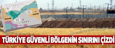 Türkiye Güvenli Bölgenin Sınırını Çizdi