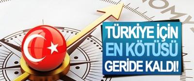 Türkiye için en kötüsü geride kaldı!