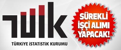 Türkiye İstatistik Kurumu Sürekli İşçi Alımı Yapacak!