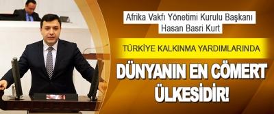 Türkiye Kalkınma Yardımlarında Dünyanın En Cömert Ülkesidir!