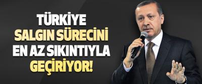 Türkiye Salgın Sürecini En Az Sıkıntıyla Geçiriyor!