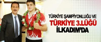 Türkiye Şampiyonluğu Ve Türkiye 3.Lüğü İlkadım'da
