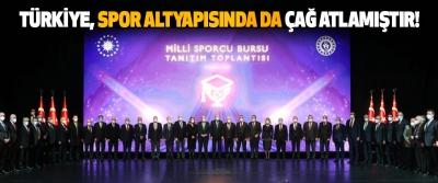 Türkiye, Spor Altyapısında da Çağ Atlamıştır!