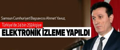 Türkiye'de 24 Bin 259 Kişiye Elektronik İzleme Yapıldı