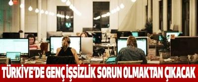 Türkiye'de Genç İşsizlik Sorun Olmaktan Çıkacak