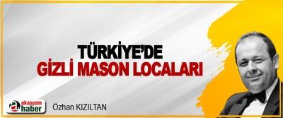 Türkiye'de Gizli Mason Locaları