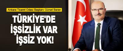 Türkiye'de İşsizlik Var İşsiz Yok!