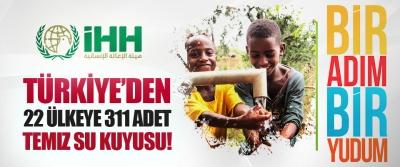 Türkiye'den 22 Ülkeye 311 Adet Temiz Su Kuyusu!