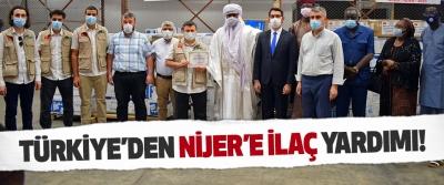 Türkiye'den Nijer'e İlaç Yardımı!