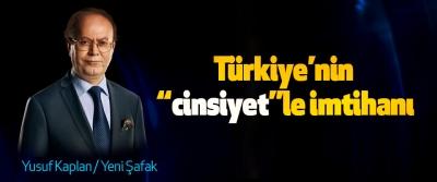 """Türkiye'nin """"cinsiyet""""le imtihanı"""