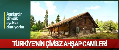 Türkiye'nin Çivisiz Ahşap Camileri