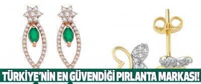 Türkiye'nin En Güvendiği Pırlanta Markası!