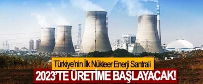 Türkiye'nin İlk Nükleer Enerji Santrali 2023'te üretime başlayacak!
