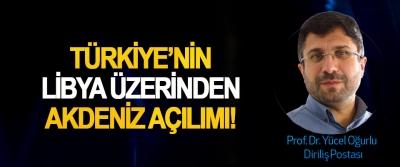 Türkiye'nin Libya Üzerinden Akdeniz Açılımı!