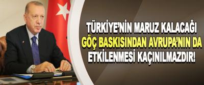 Türkiye'nin Maruz Kalacağı Göç Baskısından Avrupa'nın Da Etkilenmesi Kaçınılmazdır!