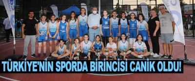 Türkiye'nin Sporda Birincisi Canik Oldu!