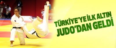 Türkiye'ye İlk Altın Judo'dan Geldi
