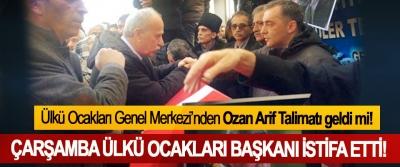 Ülkü Ocakları Genel Merkezi'nden Ozan Arif Talimatı geldi mi!
