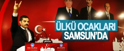 Ülkü Ocakları Samsun'da