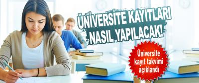 Üniversite Kayıtları Nasıl Yapılacak!