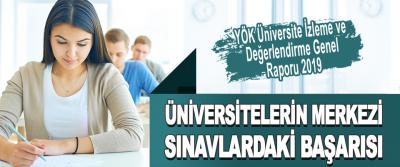 Üniversitelerin Merkezi Sınavlardaki Başarısı