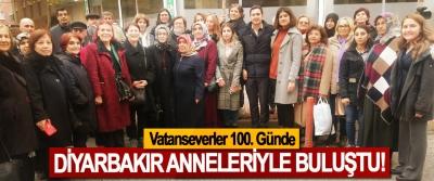 Vatanseverler 100. Günde Diyarbakır Anneleriyle Buluştu!