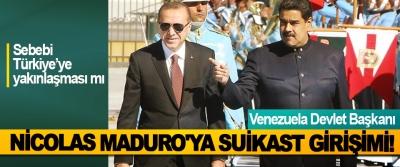 Venezuela Devlet Başkanı Nicolas Maduro'ya Suikast Girişimi!