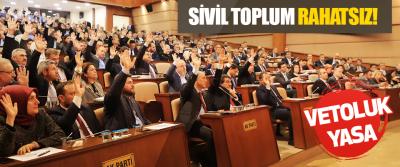 Vetoluk Yasa Sivil Toplum Rahatsız!