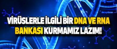 Virüslerle İlgili Bir DNA Ve RNA Bankası Kurmamız Lazım!