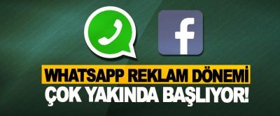 Whatsapp reklam dönemi çok yakında başlıyor!