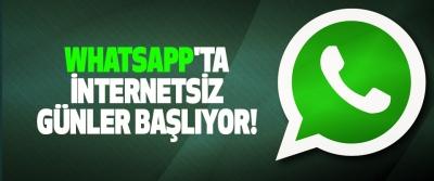 Whatsapp'ta internetsiz günler başlıyor!
