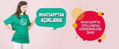 Whatsapp'ta Toplu Mesaj Gönderenlere Dava!