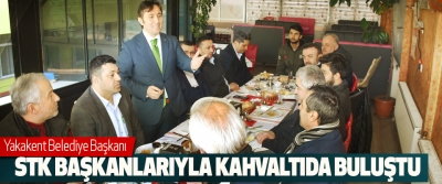 Yakakent Belediye Başkanı STK Başkanlarıyla Kahvaltıda Buluştu