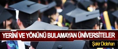 Yerini Ve Yönünü Bulamayan Üniversiteler