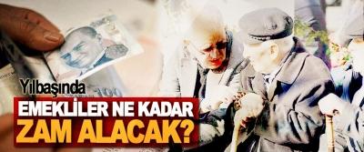 Yılbaşında Emekliler Ne Kadar Zam Alacak?