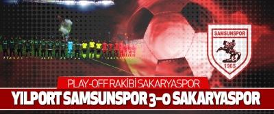 Yılport Samsunspor 3–0 Sakaryaspor