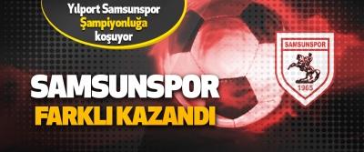Yılport Samsunspor 6-1 Eskişehirspor