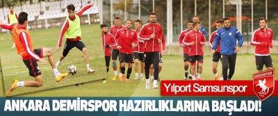 Yılport Samsunspor Ankara Demirspor Hazırlıklarına Başladı!